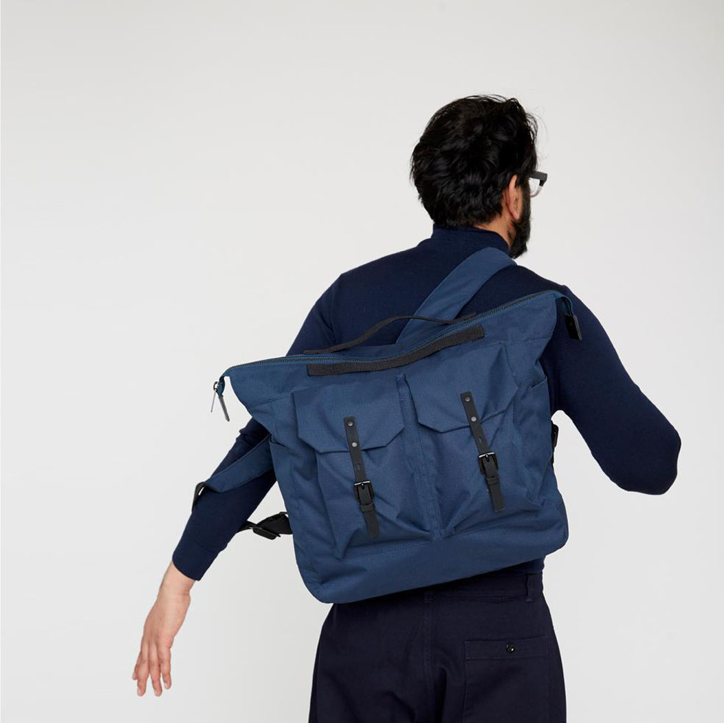 ALLY CAPELLINO(アリーカペリーノ) CANVAS DAY PACK