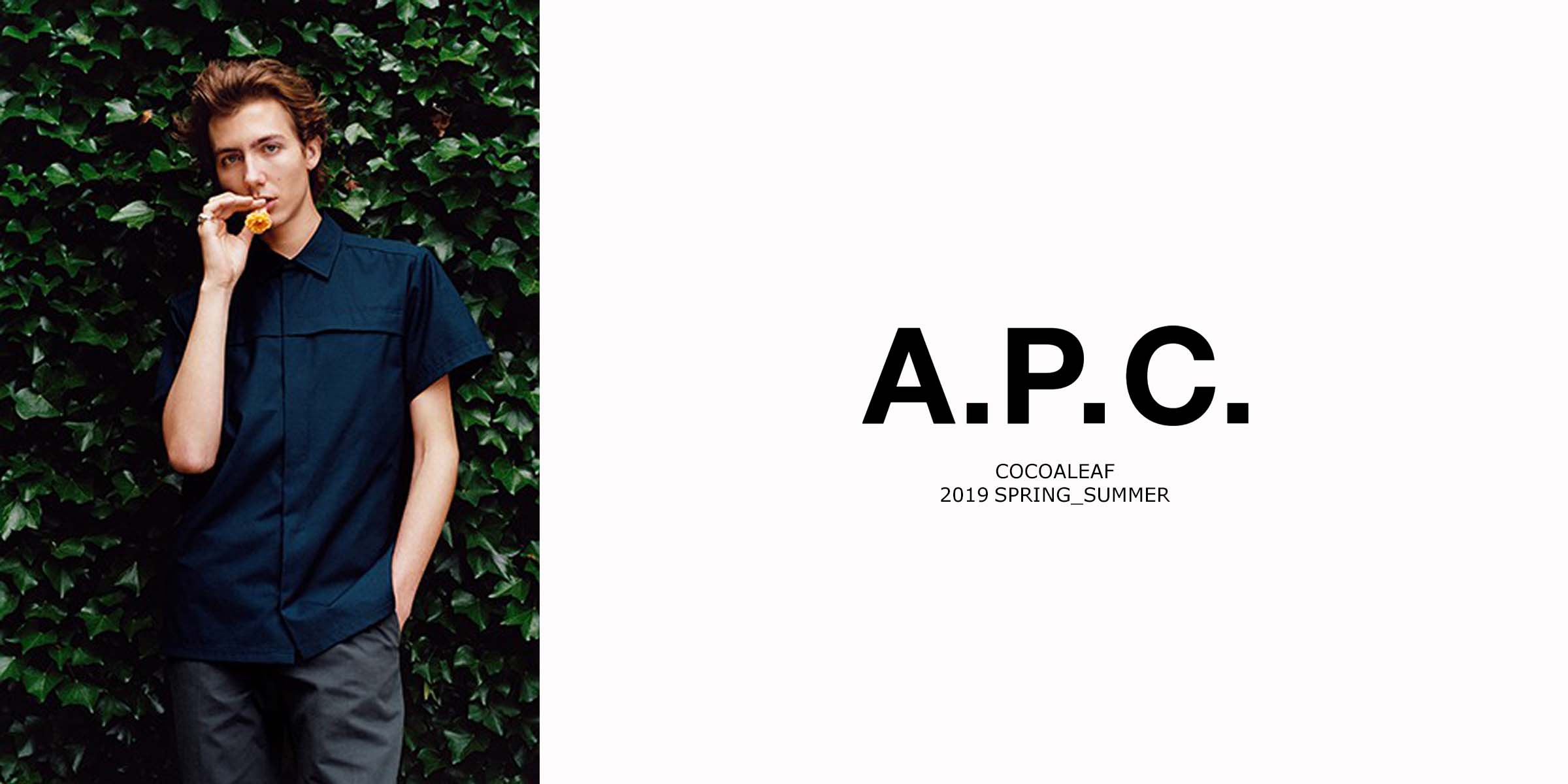 2019SSNEW ARRIVAL A.P.C.(アーペーセー)