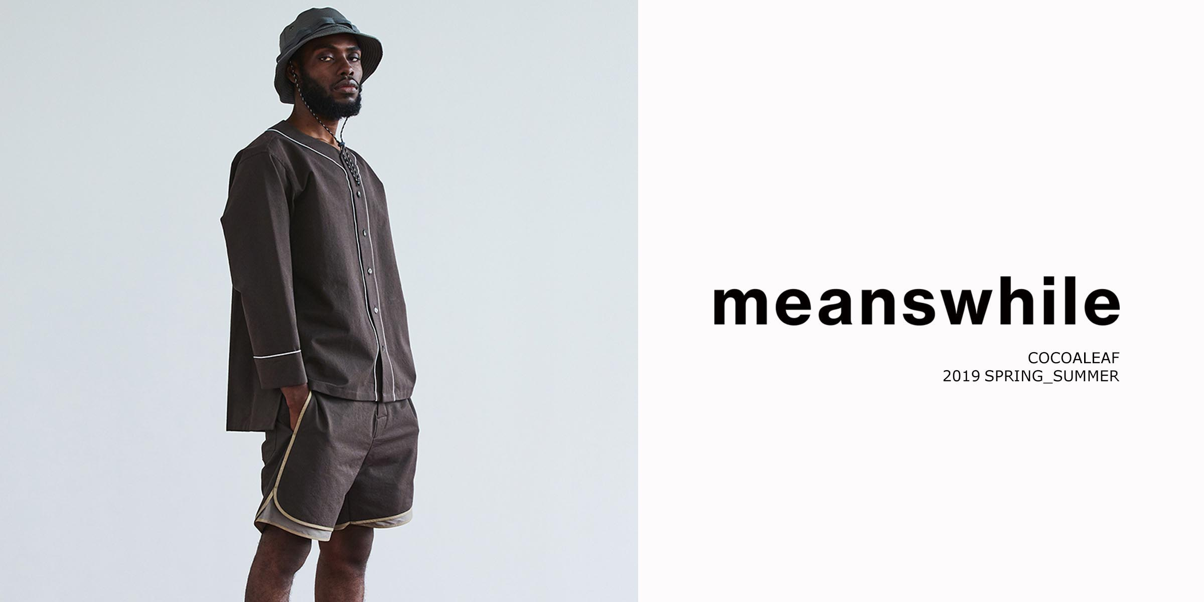 2019SSNEW ARRIVAL meanswhile(ミーンズワイル)