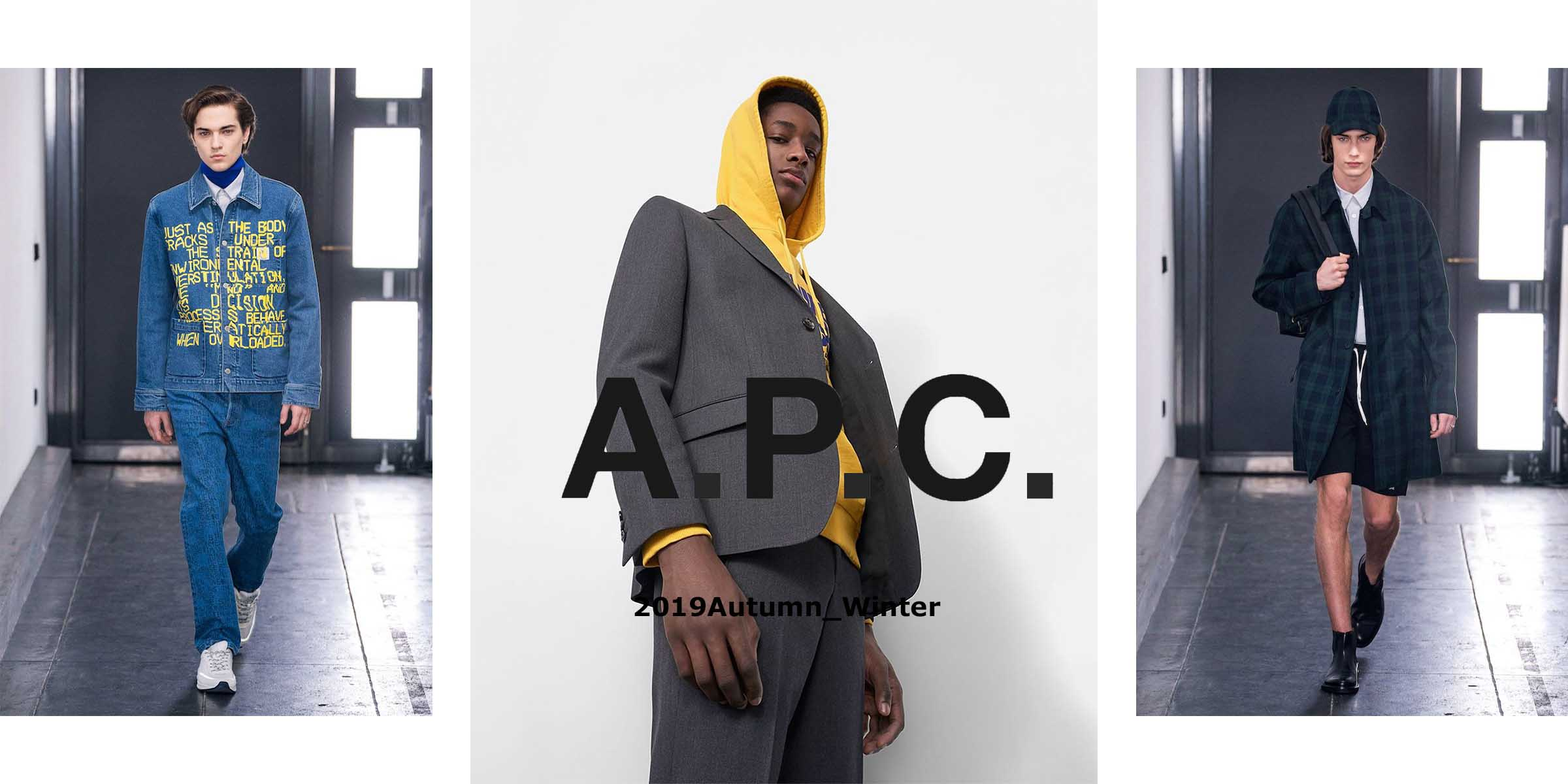 2019AW NEW ARRIVAL APC(アーペーセー)