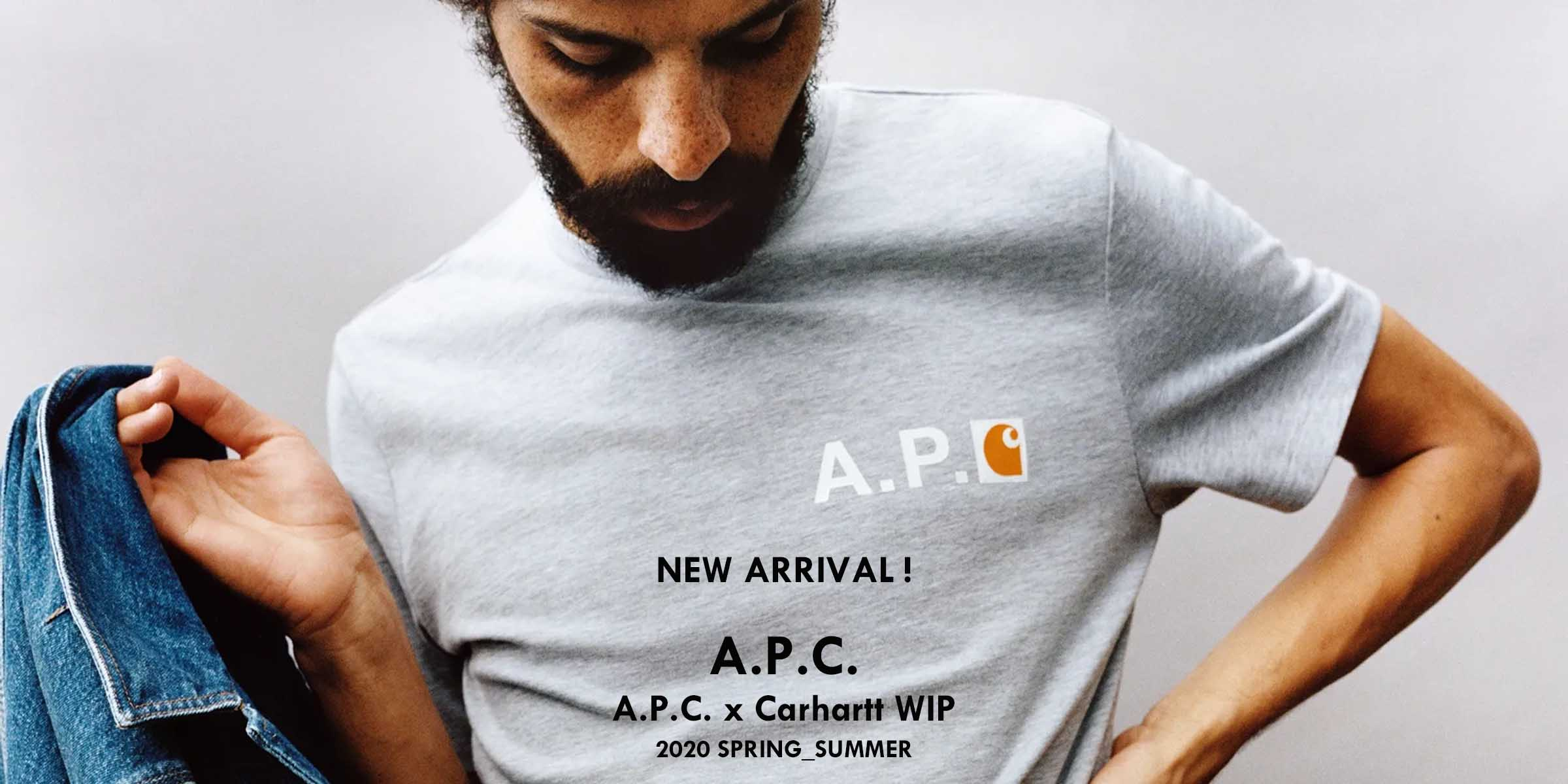2020SPRING_SUMMER NEW ARRIVAL APC(アーペーセー)